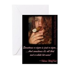 Smokey Kisses Greeting Cards (Pk of 10)