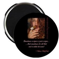 "Smokey Kisses 2.25"" Magnet (10 pack)"