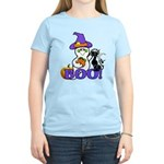 Halloween Ghost Women's Light T-Shirt