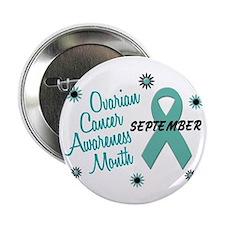 """Ovarian Cancer Awareness Month 1.1 2.25"""" Button (1"""