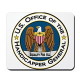 Handicapper General Seal Mousepad
