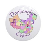 Danjiangkou China Ornament (Round)