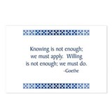 Goethe Postcards (Package of 8)