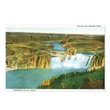 Shoshone Falls Idaho Postcards (Package of 8)