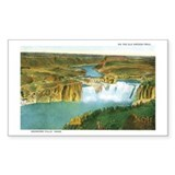 Shoshone Falls Idaho Rectangle Sticker 50 pk)