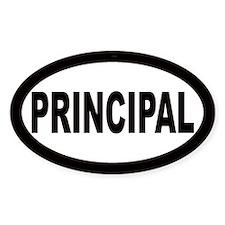 Principal Oval Decal