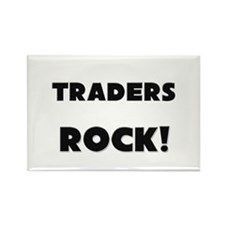 Traders ROCK Rectangle Magnet (10 pack)