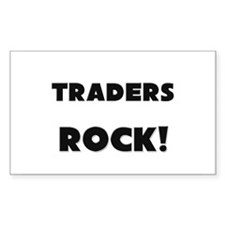 Traders ROCK Rectangle Sticker
