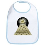 All Seeing Eye Pyramid 2 Bib
