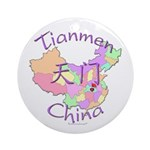 Tianmen China Ornament (Round)