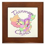 Tianmen China Framed Tile