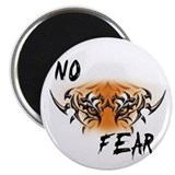 "No Fear 2.25"" Magnet (100 pack)"