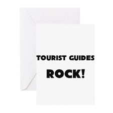 Tourist Guides ROCK Greeting Cards (Pk of 10)