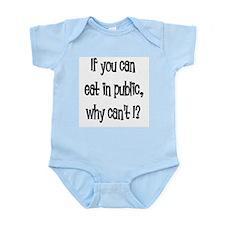 Eat in public Infant Bodysuit
