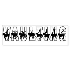 Vaulting Silhouettes Bumper Sticker (10 pk)