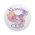 Xianning China Ornament (Round)
