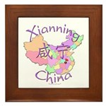 Xianning China Framed Tile