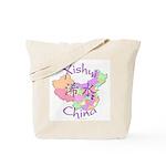 Xishui China Map Tote Bag