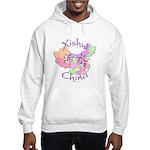 Xishui China Map Hooded Sweatshirt
