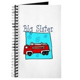 Firetruck Big Sister Journal