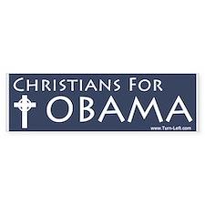 Christians for Obama (Bumper)