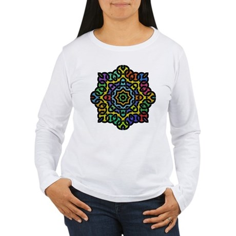 Colorful Knotwork Women's Long Sleeve T-Shirt