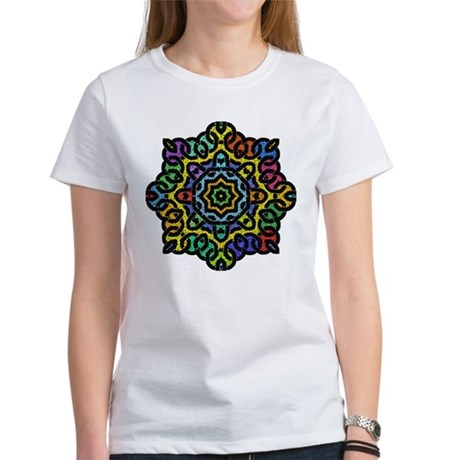 Colorful Knotwork Women's T-Shirt