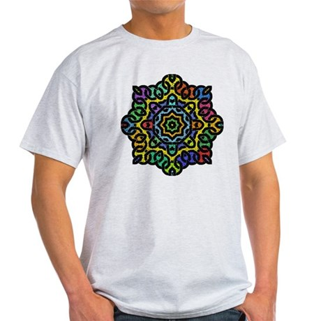 Colorful Knotwork Light T-Shirt