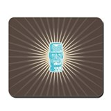 Tiki (blue) Mousepad