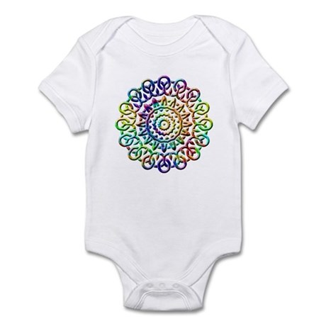 Rainbow Knots Infant Bodysuit