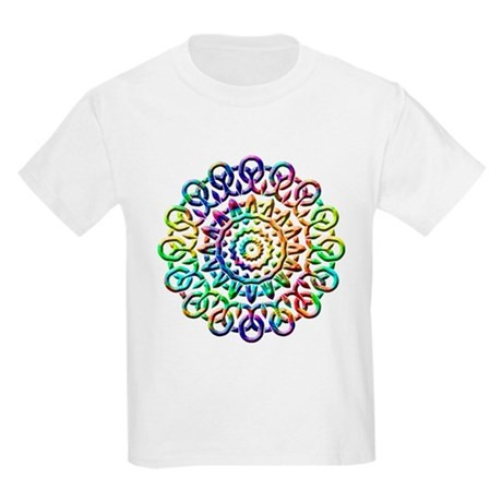 Rainbow Knots Kids Light T-Shirt