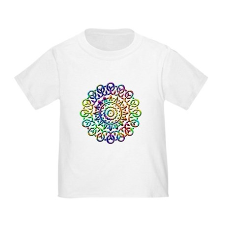 Rainbow Knots Toddler T-Shirt