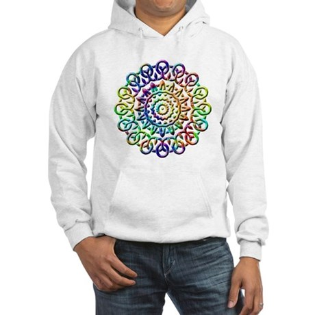 Rainbow Knots Hooded Sweatshirt