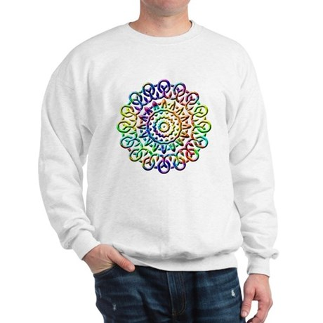 Rainbow Knots Sweatshirt