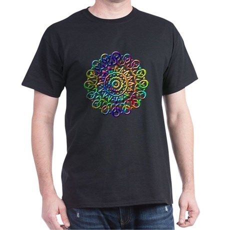 Rainbow Knots Dark T-Shirt