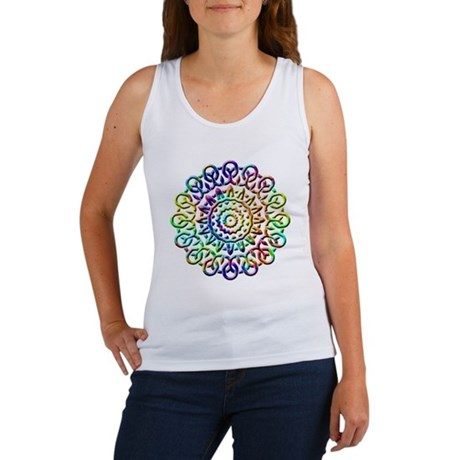 Rainbow Knots Women's Tank Top