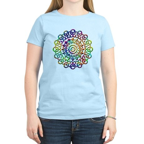 Rainbow Knots Women's Light T-Shirt
