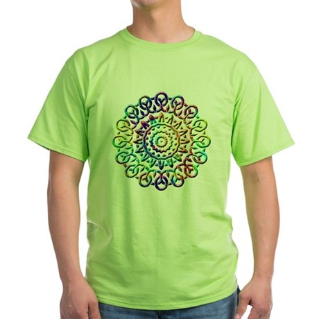 Rainbow Knots Green T-Shirt