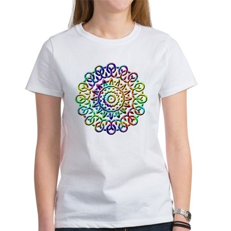 Rainbow Knots Women's T-Shirt