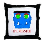 LI'L MONSTER Throw Pillow