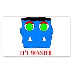 LI'L MONSTER Rectangle Sticker