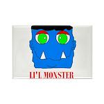 LI'L MONSTER Rectangle Magnet (10 pack)