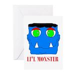LI'L MONSTER Greeting Cards (Pk of 20)