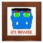 LI'L MONSTER Framed Tile