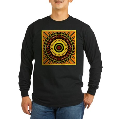Midnight Sun Long Sleeve Dark T-Shirt