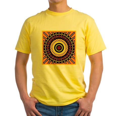 Midnight Sun Yellow T-Shirt