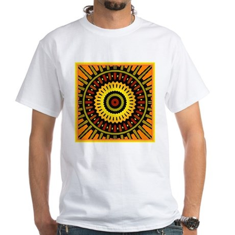 Midnight Sun White T-Shirt