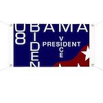 Obama-Biden 08 Crossword-Style Banner