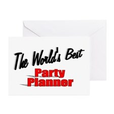 """The World's Best Party Planner"" Greeting Cards (P"