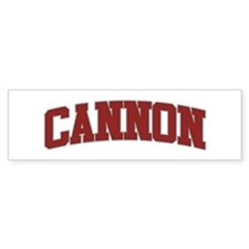 CANNON Design Bumper Bumper Sticker